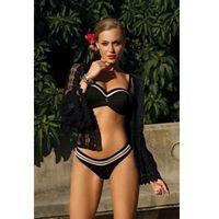 Kostium kąpielowy damski dwuczęściowy cecile q5 czarny marki Lavel