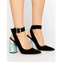 pina colada pointed high heels - black, Asos