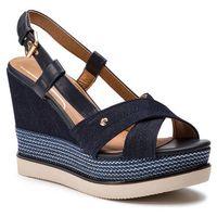 Espadryle WRANGLER - Sunny Kelly WL91632A Navy 016, kolor niebieski