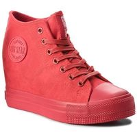 Sneakersy BIG STAR - BB274088 Micro/Red, kolor czerwony