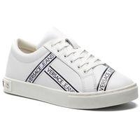 Sneakersy jeans - e0vtbsf5 70912 003, Versace