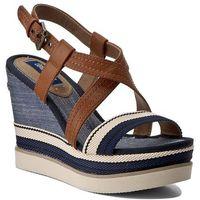 Sandały WRANGLER - Kelly Cross Sunshine WF0722235 Blue 100, w 2 rozmiarach