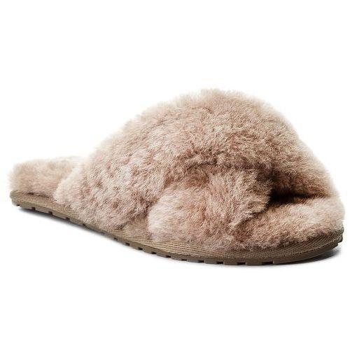 Kapcie EMU AUSTRALIA - Mayberry W11573 Mushroom, kolor brązowy