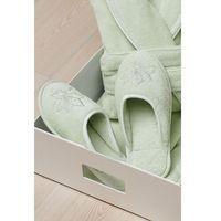 Damskie kapcie lilium 28 cm (rozm. 38/40) pistacjowy marki Soft cotton
