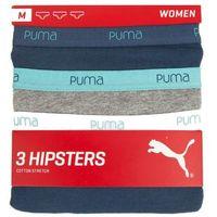 Majtki basic hipster 3-pack 90678002, Puma, S-L