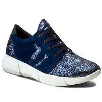 Sneakersy TRUSSARDI JEANS - 79S260 49, kolor niebieski