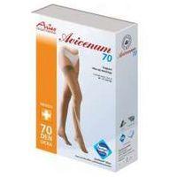 avicenum 70 - pończochy profilaktyczne, samonośne z koronką marki Aries