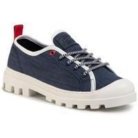 Półbuty - color block lace up en0en00915 twilight navy c87, Tommy jeans