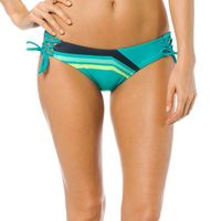 Fox dół od bikini seca lace up side tie xs turkusowy