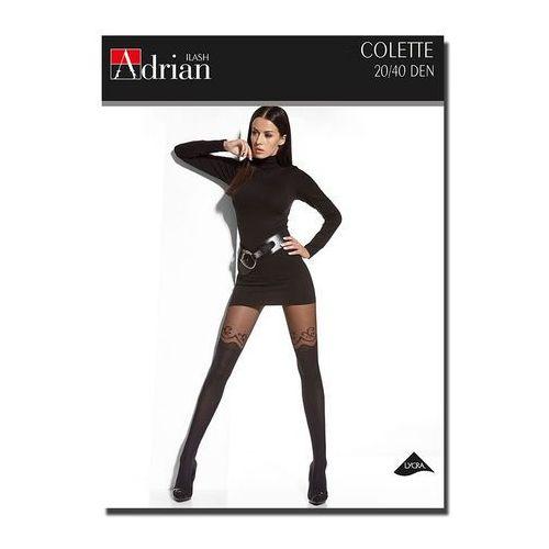 Rajstopy Adrian Colette 20/40 den 6-XXL 6-2XL, czarny/nero, Adrian, 5905493124118
