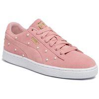 Sneakersy PUMA - Suede Pearl Studs Wn's 369934 02 Bridal Rose-Puma Team Gold, kolor różowy