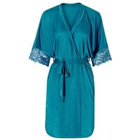 Kimono bonprix niebieskozielony