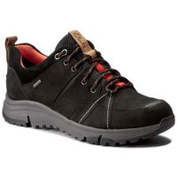 Clarks Trekkingi - tri trek gtx gore-tex 261269094 black nubuck