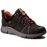 Trekkingi - tri trek gtx gore-tex 261269094 black nubuck, Clarks, 35.5-36