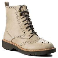 Botki - witcombe flo 261282354 sand leather, Clarks, 36-39