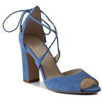 Sandały - 5901 niebieski zamsz, Kotyl, 36-40