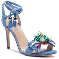 Sandały - 26493-58-i53/000-07-00 błękitny, Solo femme, 35-40