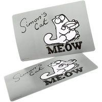 Łatwa w czyszczeniu mata pod miskę dla kota marki Simon's cat