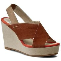 Sandały GANT - Stella 12563190 Cognac G45, kolor brązowy