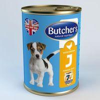Butcher's junior z kurczakiem - puszka 400g + 45g (5011941410013)