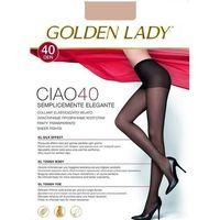 Rajstopy Golden Lady Ciao 40 den ROZMIAR: 2-S, KOLOR: beżowy/visone, Golden Lady, kolor beżowy