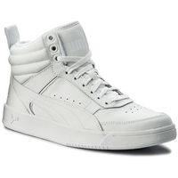 Sneakersy PUMA - Rebound Street v2 L 363716 02 Puma White/Puma White, kolor biały
