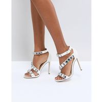 hopes and dreams premium bridal heeled sandals - cream marki Asos