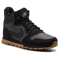 Buty - md runner 2 mid prem 845059 004 black/black/gum light brown marki Nike