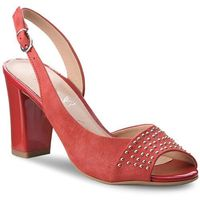 Sandały - 9-28305-20 red pearl 510, Caprice, 35.5-39