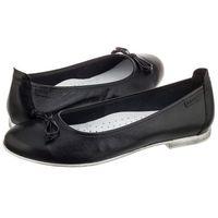 Baleriny Nessi Czarne 17141 32 (NE39-a), kolor czarny