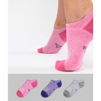 Nike Lightweight No Show 3 Pack Training Socks - Multi