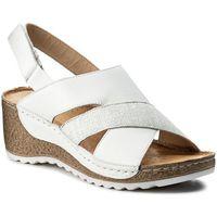 Sandały WASAK - 0493 Biały/Len