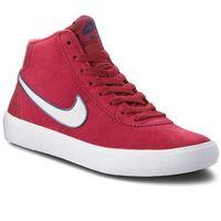 Buty - sb bruin hi 923112 600 red crush/vast grey/white marki Nike