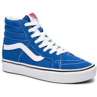 Sneakersy - comfycush sk8-h vn0a3wmcvo11 (suede/canvas) lapis blue marki Vans