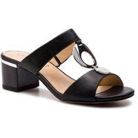 Klapki CAPRICE - 9-27204-22 Black Nappa 022, w 4 rozmiarach