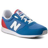 New balance Sneakersy - kl220bby niebieski