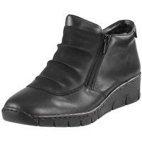 Rieker Botki 53742 czarne