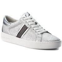 Michael michael kors Sneakersy - keaton stripe 43t8ktfs2d silver/blk