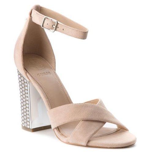 Sandały GUESS - Briana FLIAN1 SUE03 NATUR, kolor beżowy
