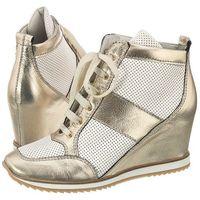 Sneakersy Venezia Złote 5408 Plat-Bia (VE33-a), w 5 rozmiarach