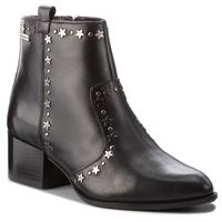 Pepe jeans Botki - waterloo stars pls50312 black 999