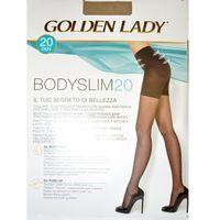 Rajstopy bodyslim 20 den rozmiar: 4-l, kolor: czarny/nero, golden lady marki Golden lady