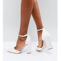 ASOS PEBBLE Bridal Pointed High Heels - Cream