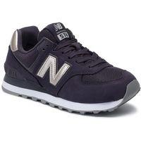 Sneakersy NEW BALANCE - WL574WNM Fioletowy