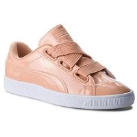 Sneakersy PUMA - Basket Heart Patent 363073 16 Dusty Coral/Dusty Coral, w 9 rozmiarach