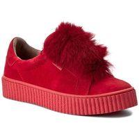 Sneakersy - 17111 czerwony w-k marki Nessi