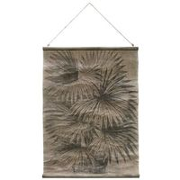 HK Living Plakat vintage: liście palmy AWD8855