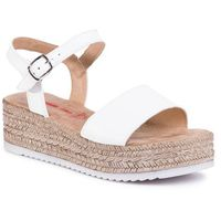 Sandały - 5-28216-24 white leather 106 marki S.oliver