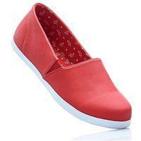 Buty wsuwane bonprix truskawkowy