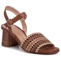 Sandały UNISA - Molla Sty Saddle Softy, kolor brązowy